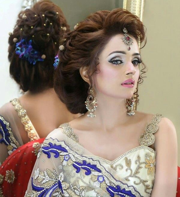 25 Trending Hairstyles For Walima Function in 2020 Wedding