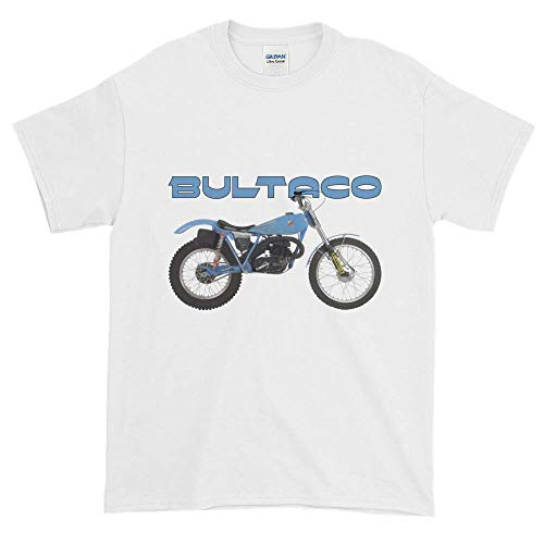 Ainiteey Bultaco Cool Bbgogo5 Cotton Hombre/Men's Camiseta/T Shirt