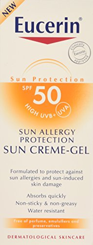 Beiersdorf Eucerin Sun Cream Gel and Allergy Protection