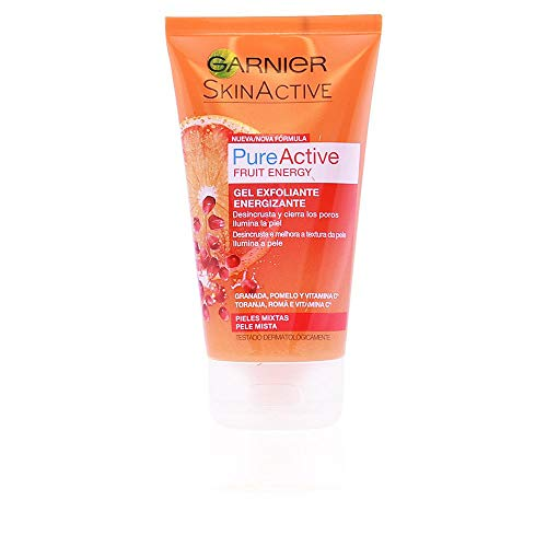 Garnier Skin Active Pure Active Fruit Energy Gel Exfoliante Energizante