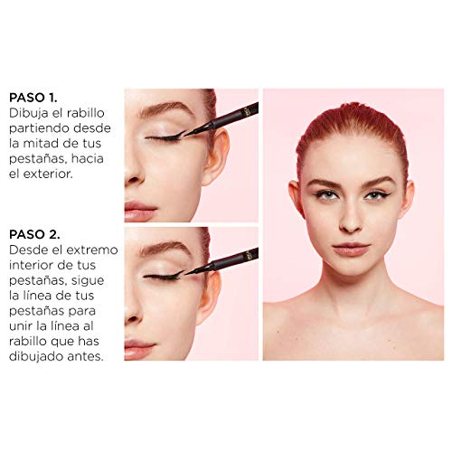 L'Oréal Paris Perfect Slim Líquido Negro Intenso - 12 ml