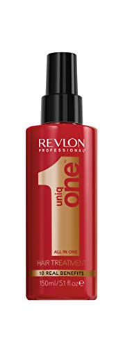 UniqOne Revlon Professional Classico Tratamiento en Spray para Cabello 150 ml y Super10R Mascarilla 300 ml - Pack 300 ml