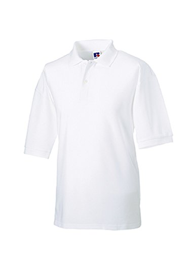 (XXXX-Large, White) - Jerzees Classic Polo Shirt