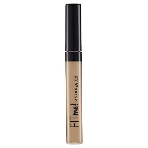 Maybelline New York Fit Me - Corrector de Imperfecciones Acabado Mate para Pieles Oscuras, Tono 35 Deep - 6.8 ml