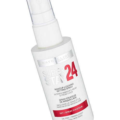 Maybelline New York Superstay 24H Makeup Locking Setting Spray 001 - 1 unidad