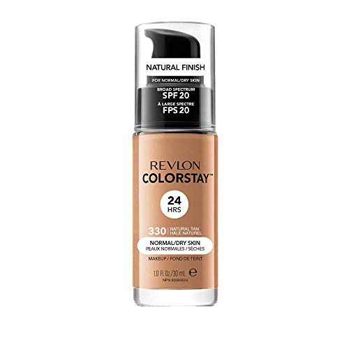 Revlon ColorStay Base de Maquillaje piel normal/seca FPS20 (#330 Natural Tan) 30ml