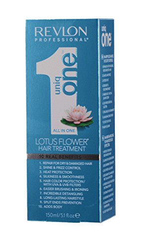 Revlon Uniq One All in One Lotus Flower - Tratamiento capilar, 150 ml