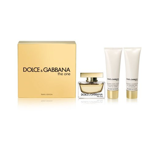 Dolce & Gabbana El Uno Eau de Parfum Spray 75 ml/Body Lotion 50 ml/Gel de ducha 50 ml