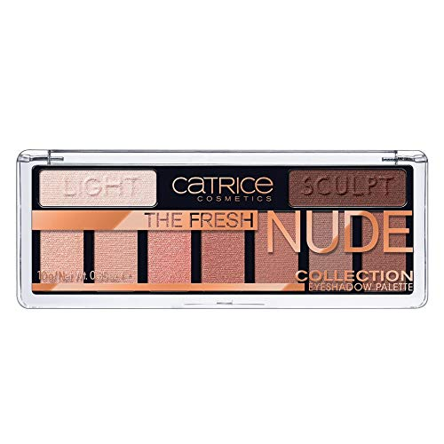 Catrice paleta sombras the fresh nude collection 10 newly nude.
