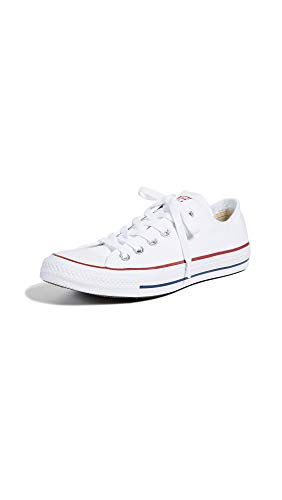 Converse Chuck Taylor All Star Ox, Zapatillas Mujer, Blanco (Optical White), 39 EU