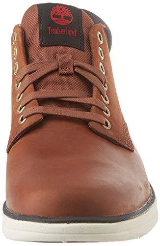 Timberland Bradstreet Leather Sensorflex, Botas Chukka Hombre, Marrón MD Brown Full Grain, 43 EU