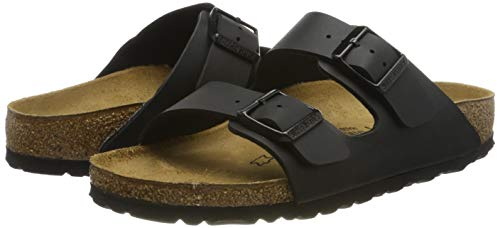 Birkenstock Arizona, Mules Mixed Unisex Adulto, Negro (Black 51191), 39 EU