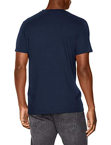 Levi's SS Original Hm tee Camiseta, Cotton + Patch Dress Blues, M para Hombre