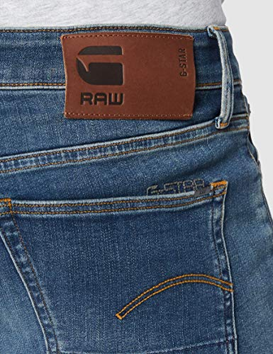 G-STAR RAW 3301 Slim Fit Vaqueros, Medium Aged 8968-2965, 32W / 32L para Hombre