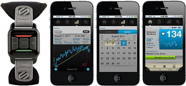 Scosche MyTrek permite medir la frecuencia cardíaca desde el brazo en el iPhone