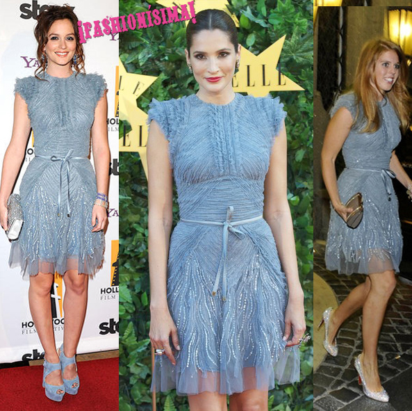 Vestido de Elie Saab: ¿Leighton Meester, Astrid Muñoz o la princesa Beatriz?
